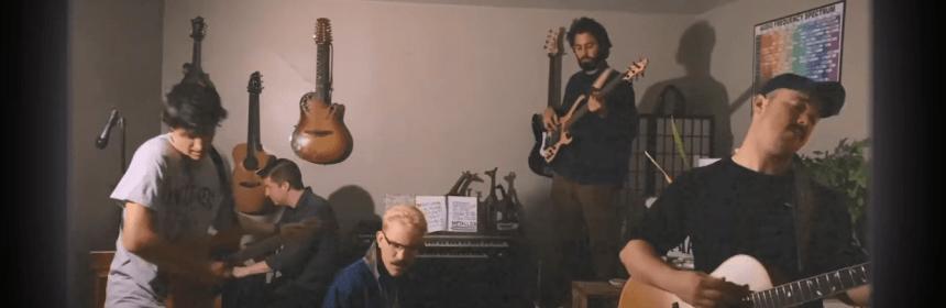 """Video still from Motel Breakfast - """"Sandman"""""""