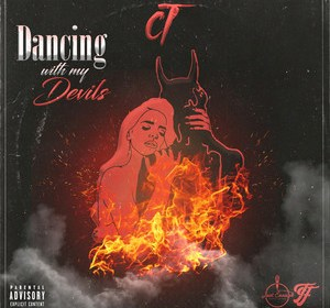 """Cover artwork for C.T. - """"Dancing With My Devils"""""""