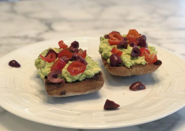 Kalamata Olives On Your Toast