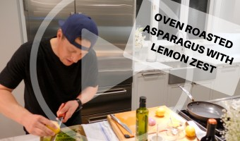Oven Roasted Asparagus With Lemon Zest