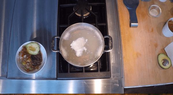 Adding Apple Cider Vinegar Poached Egg