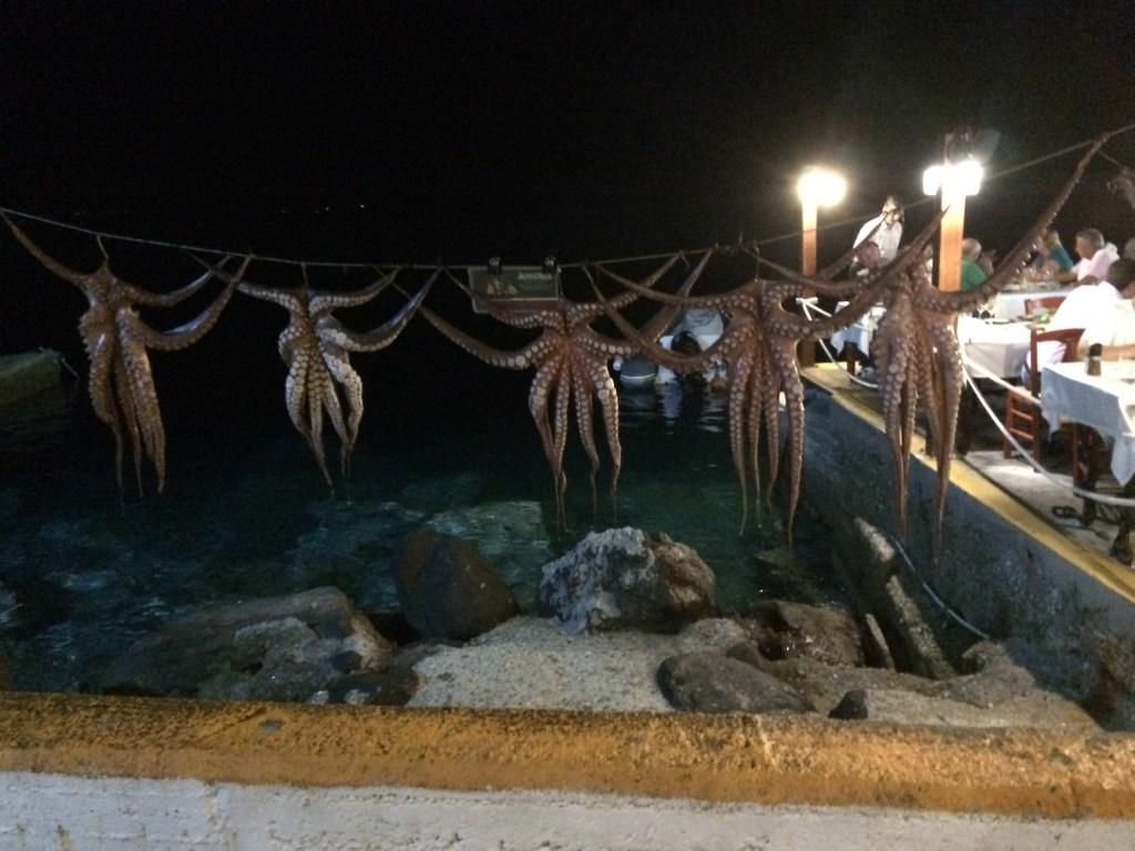 Fresh Seafood In Crete