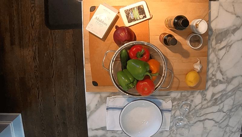 Classic Greek Salad, Wash and Prep