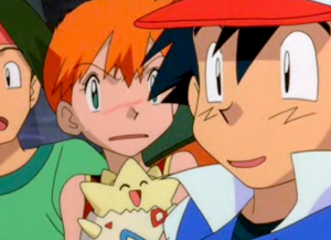 Pokemon The Movie 2000 Misty Jealous