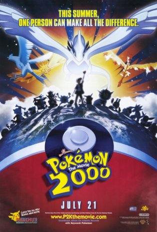 Pokemon The Movie 2000 movie poster