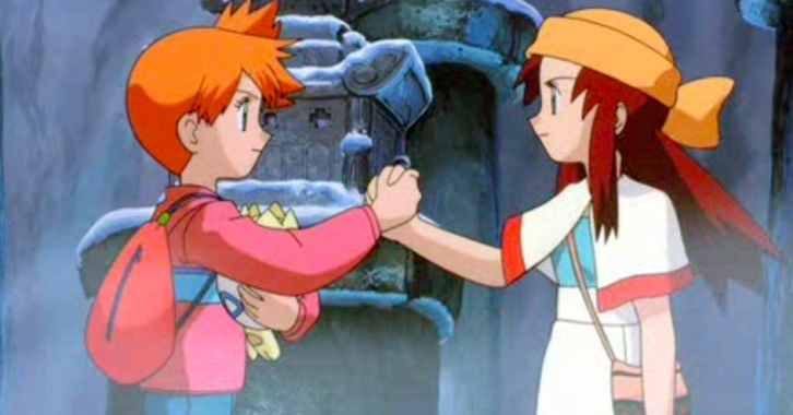 Pokemon The Movie 2000 Misty and Melody