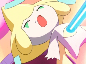 Pokemon Jirachi Wish Maker Jirachi