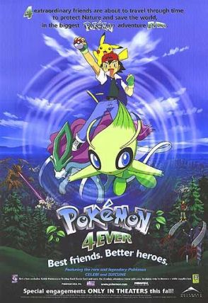 Pokemon 4Ever movie poster