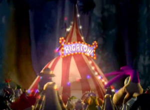 Rayman: The Animated Series Rigatoni's circus