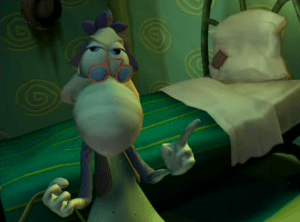 Rayman: The Animated Series Inspector Grub's mother