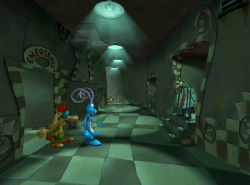 Rayman: The Animated Series Scooby Doo chase