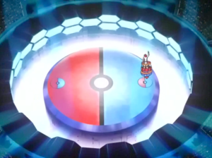 Pokemon Destiny Deoxys battle arena