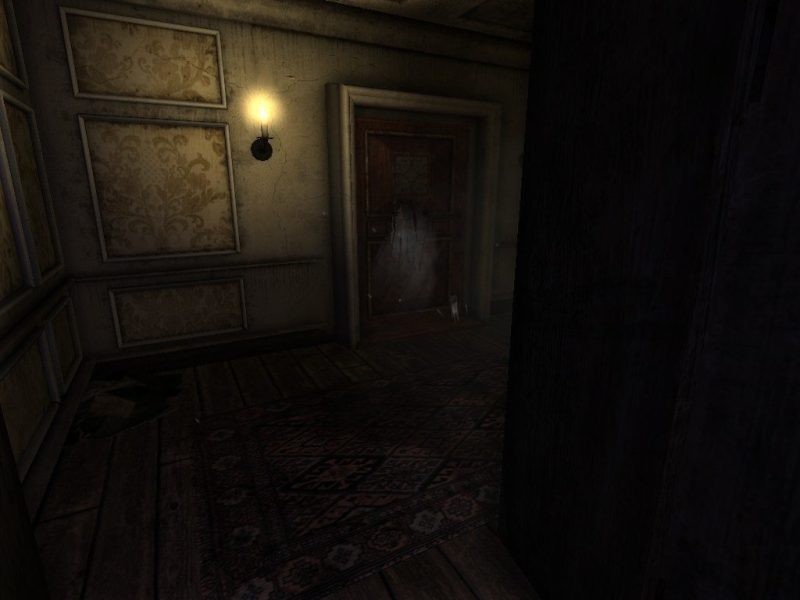 Amnesia: The Dark Descent Guest Room grunt attack