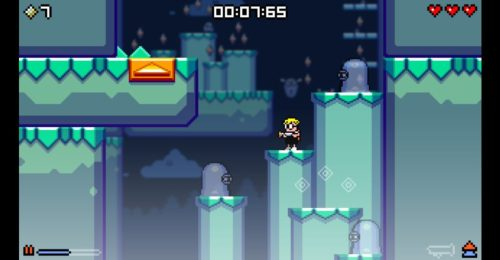 Mutant Mudds ghost levels