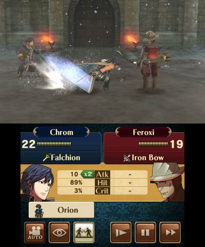 Fire Emblem: Awakening Chrom and Robin