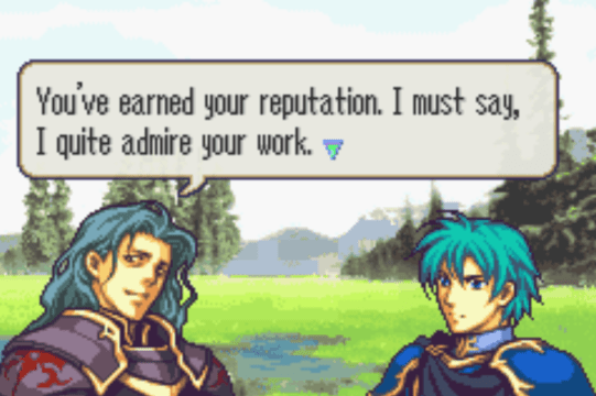 Fire Emblem: The Sacred Stones Ephraim and Valter