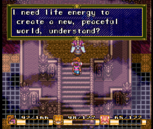 Secret of Mana Thanatos