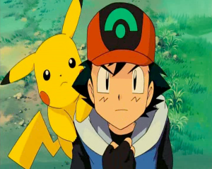 Pokemon: Lucario and the Mystery of Mew Ash Ketchum and Pikachu