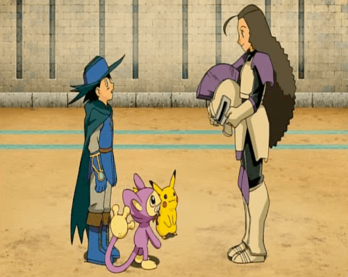 Pokemon: Lucario and the Mystery of Mew Ash Aipom Pikachu Kidd Summers