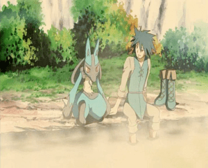 Pokemon: Lucario and the Mystery of Mew Sir Aaron and Lucario