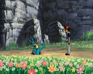 Pokemon: Lucario and the Mystery of Mew Ash and Lucario