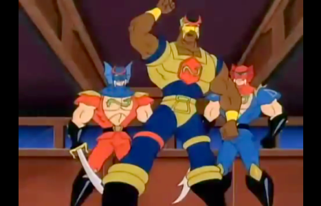 Double Dragon: The Animated Series Billy Lee Jimmy Lee Blaster