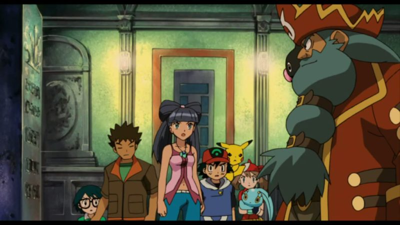 Pokémon Ranger and the Temple of the Sea Ash, May, Brock, Max, Manaphy, Manaphy
