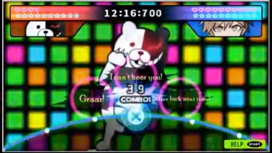 Danganronpa: Trigger Happy Havoc Bullet Time Battle Monokuma