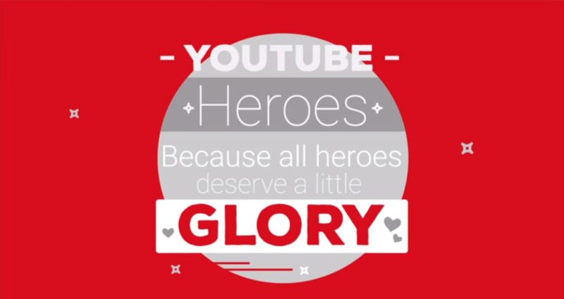 Youtube Heroes banner