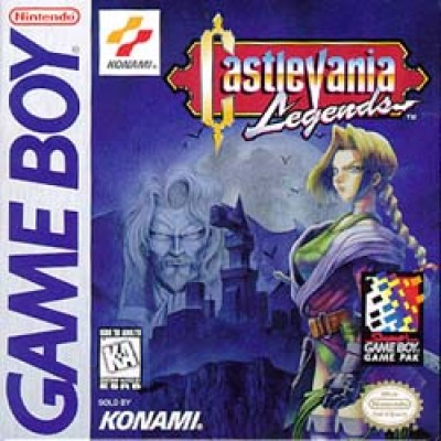 Castlevania Legends box art