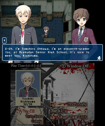 Corpse Party 3DS gameplay