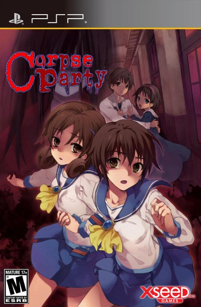 Corpse Party PSP game cover