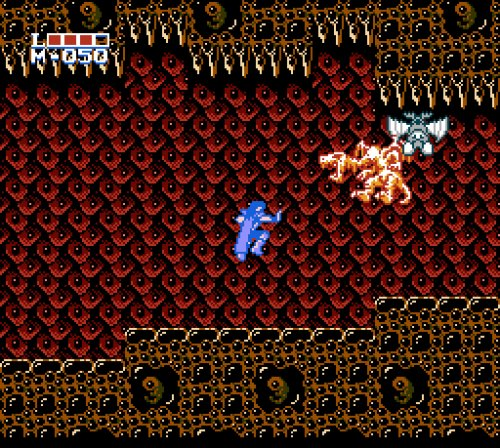 Holy Diver Famicom gameplay