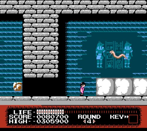 Monster Party NES gameplay