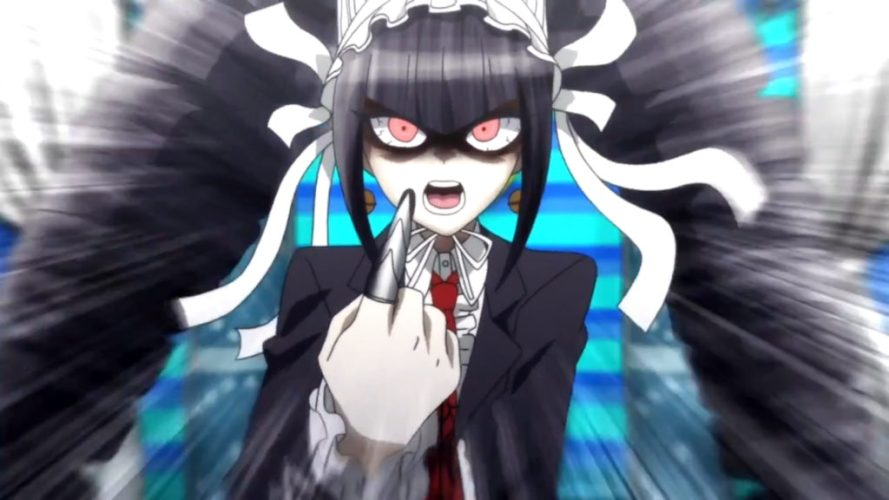 Danganronpa: Trigger Happy Havoc - The Animation angry Celestia Ludenberg
