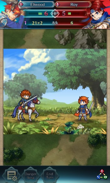 Fire Emblem Heroes Eliwood vs Roy