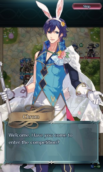 Fire Emblem Heroes easter Chrom
