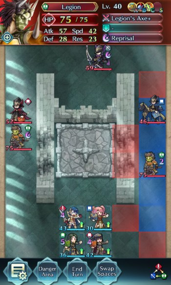 Fire Emblem Heroes Legion Infernal map