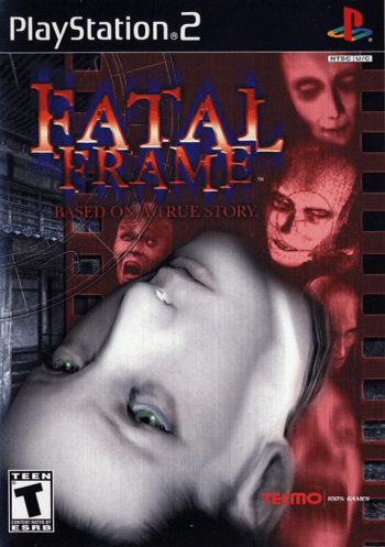 Fatal Frame PlayStation 2 box art