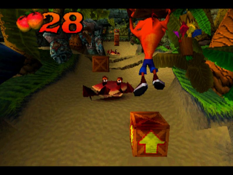 Crash Bandicoot PS1 gameplay