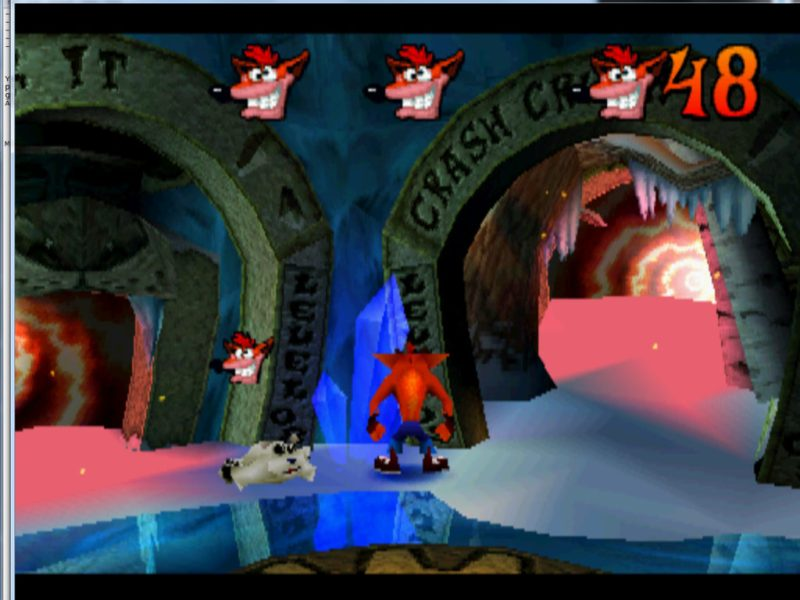 Crash Bandicoot 2: Cortex Strikes Back gameplay