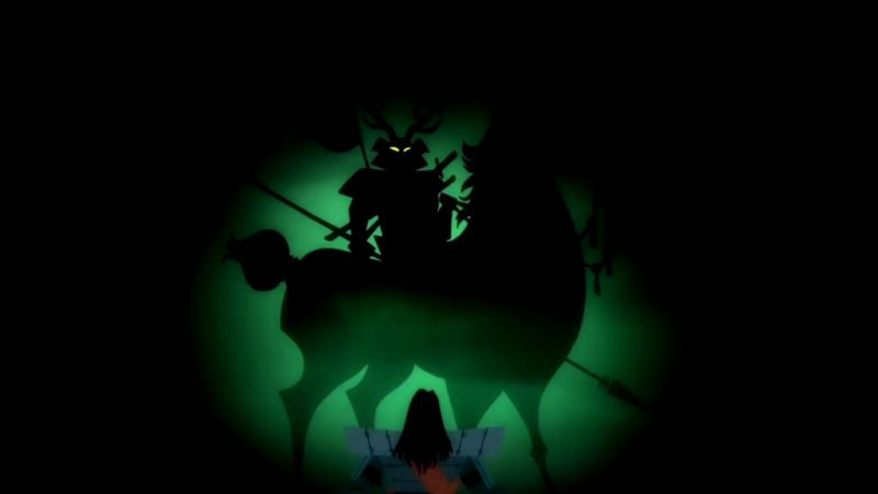 Samurai Jack season 5 dark warrior