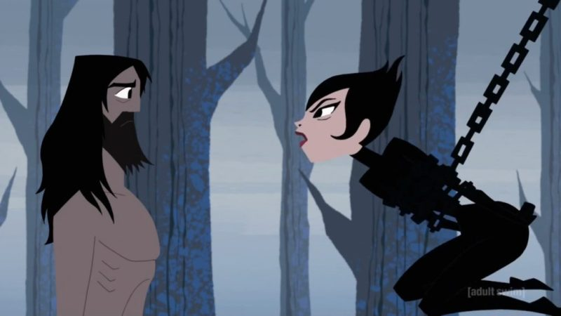Samurai Jack season 5 Jack and Ashi