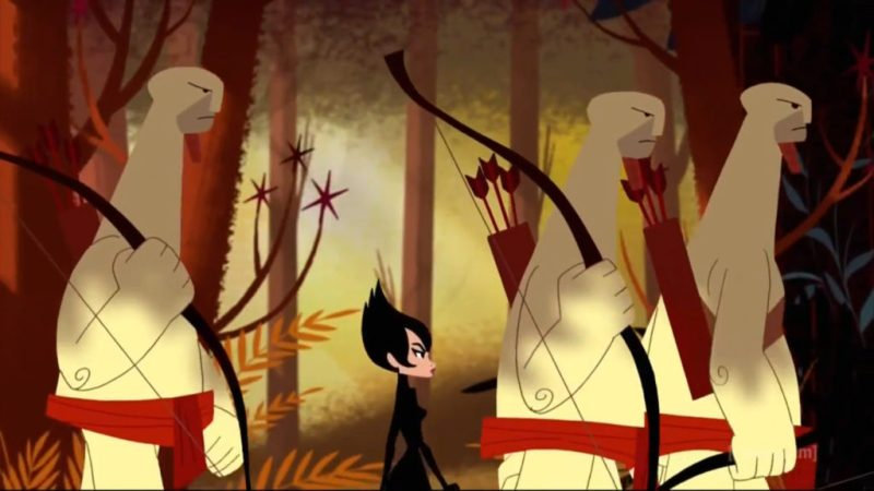 Samurai Jack season 5 blind archers