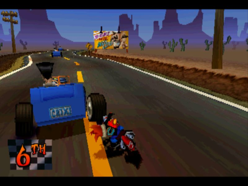 Crash Bandicoot 3: Warped Hog Ride gameplay
