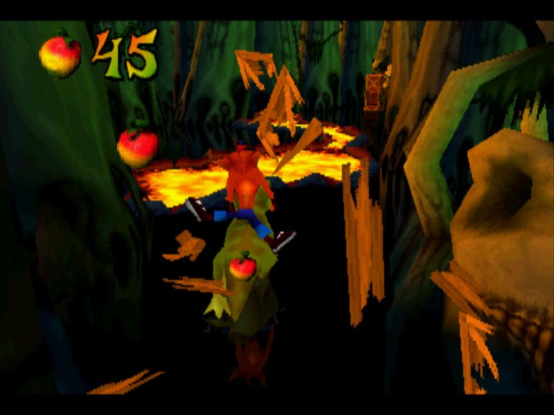 Crash Bandicoot 3: Warped Dino Might! gameplay
