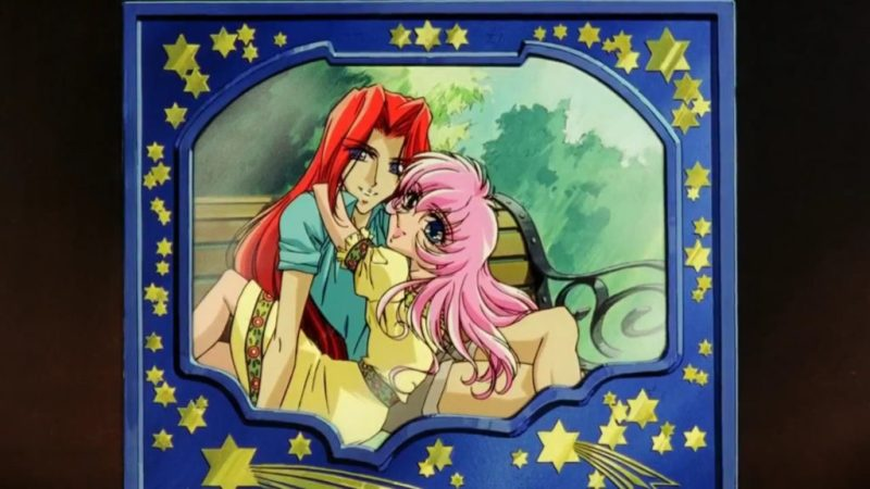 Adolescence of Utena movie childhood Utena Tenjou and Touga Kiryuu