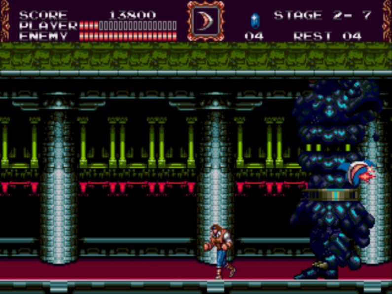 Castlevania: Bloodlines gameplay