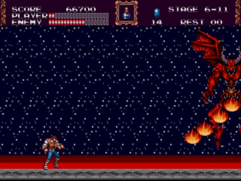 Castlevania: Bloodlines final boss