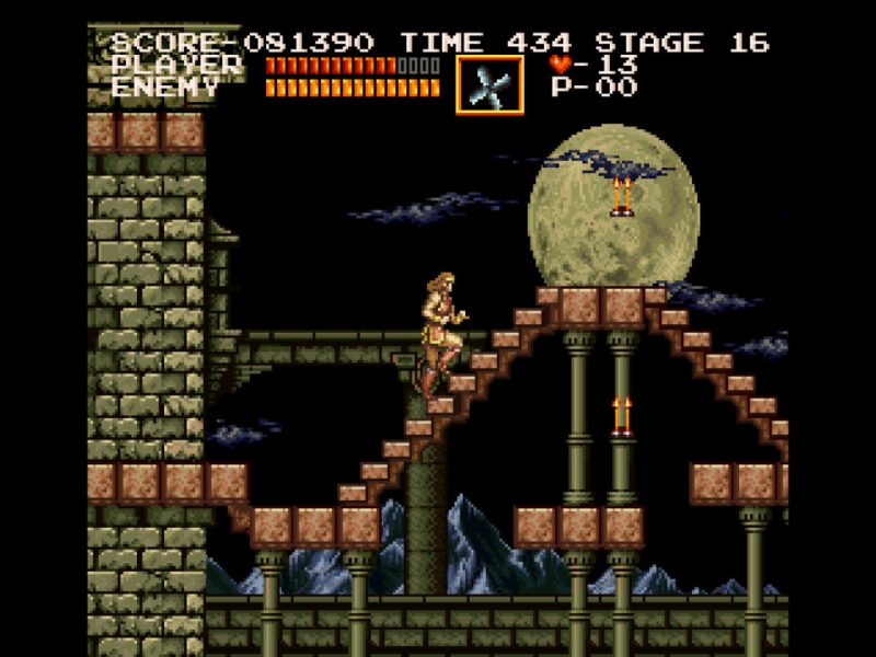 Castlevania Chronicles Original Mode gameplay